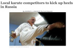 Local karate competitors to kick up heels in Russia