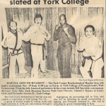 Martial Arts tournament slated at York College